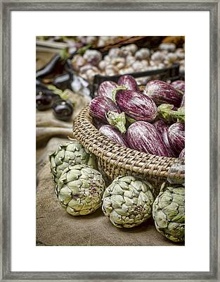 Farmers Market Finds Framed Print by Heather Applegate