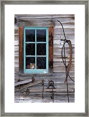 Farmhand Framed Print by Latah Trail Foundation