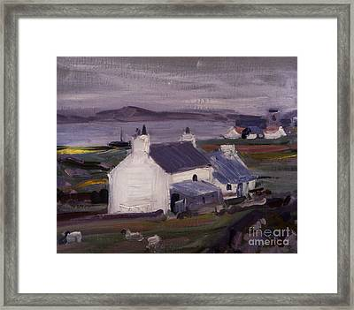 Farmsteading Framed Print by Francis Campbell Boileau Cadell