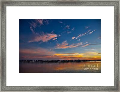 Faro At Dawn Framed Print by English Landscapes
