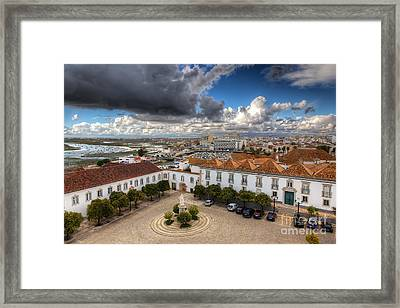 Faro City Framed Print by English Landscapes