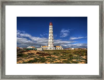 Faro Lighthouse Framed Print by English Landscapes
