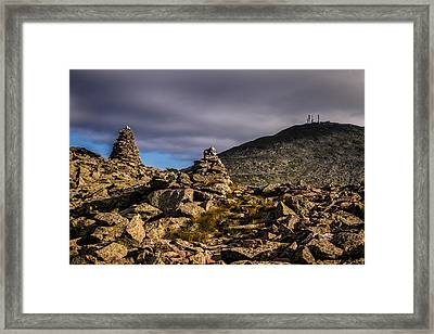 Farther Than It Looks Framed Print by Jeff Sinon