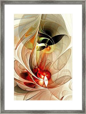 Fascinated Framed Print by Anastasiya Malakhova