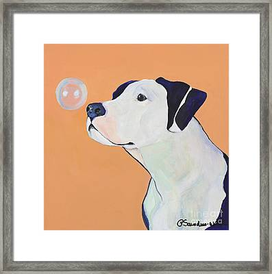 Fascination Framed Print by Pat Saunders-White