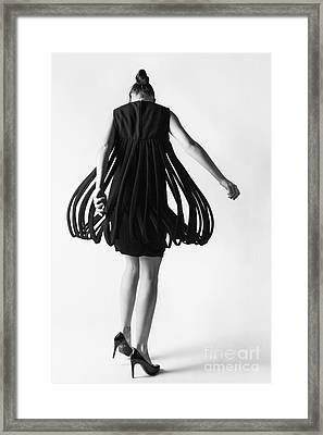 Pierre Cardin Car Wash Dress Framed Print by Diane Diederich