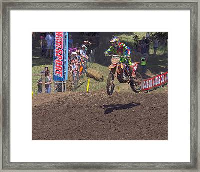 Fast Framed Print by Brian McCullough