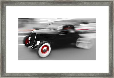 Fast Ford Hot Rod Framed Print by Phil 'motography' Clark
