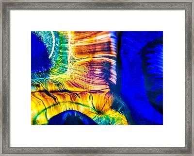 Fast Friends Framed Print by Omaste Witkowski