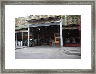 Fast Paced City Life - Bangkok Thailand - 01131 Framed Print by DC Photographer