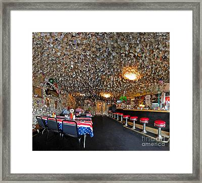 Fat Smittys Interior Framed Print by Gregory Dyer