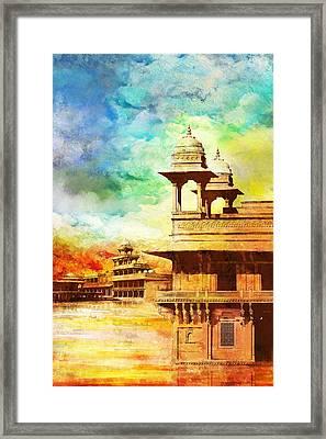 Fatehpur Sikri Framed Print by Catf
