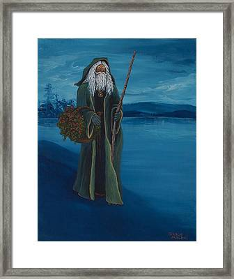 Father Christmas Framed Print by Darice Machel McGuire