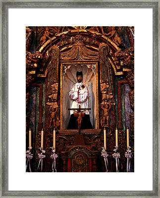 Father Kino Framed Print by Joe Kozlowski