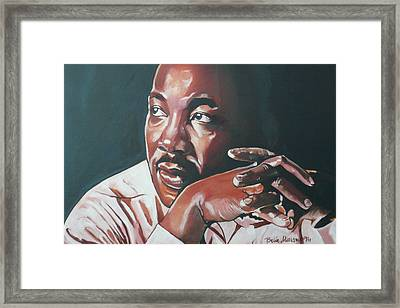 Father Of Dreams Framed Print by Belle Massey