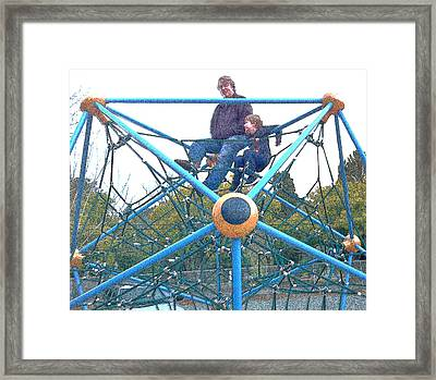 Father's Day 11 Framed Print by Cadence Spalding