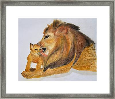 Fathers Love Framed Print by Danae McKillop