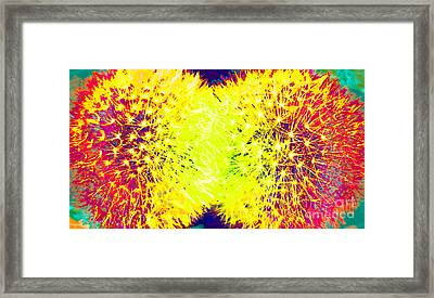 Fauvism Fun 4 Framed Print by Barbara Griffin