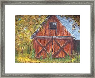 Favorite Place Framed Print by Xochi Hughes Madera