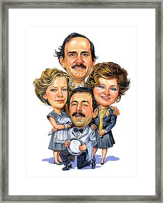 Fawlty Towers Framed Print by Art
