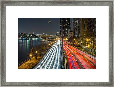 Fdr Drive Framed Print by Mike Orso