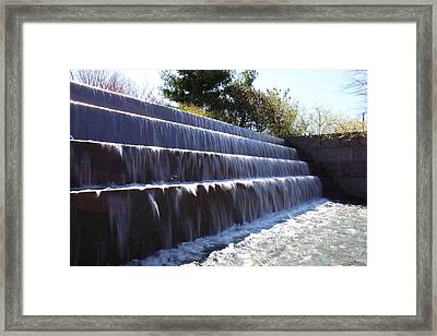 Fdr Memorial - Washington Dc - 01133 Framed Print by DC Photographer