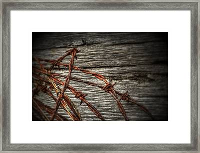 Fear Of Freedom Framed Print by Greg and Chrystal Mimbs