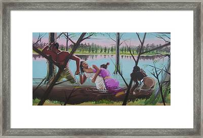 Feared Journey Framed Print by Chuck Collins