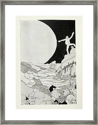 Fearful Humans Framed Print by British Library