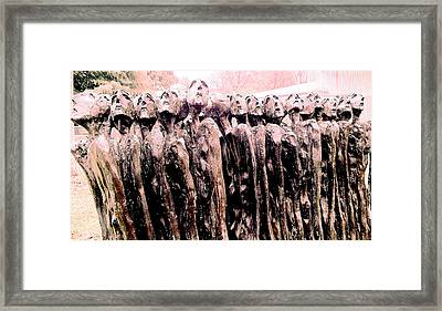 Fearing The Unknown Framed Print by Giuseppe Epifani