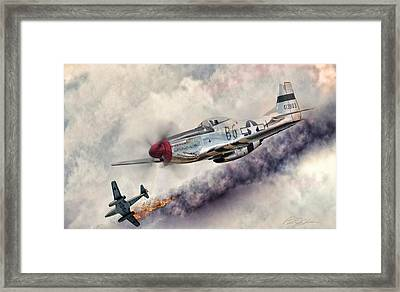 Fearless Framed Print by Peter Chilelli