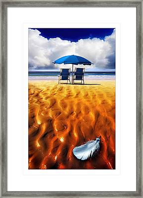 Feather Light Framed Print by Mal Bray