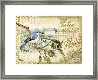 Feathers And Ferns I Framed Print by Paul Brent