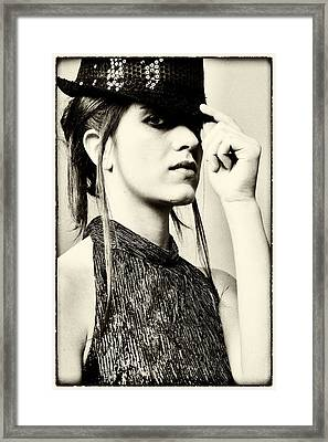 Federica 1 Framed Print by Salvatore Meli