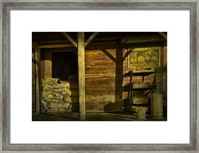 Feed Mill Store Framed Print by Randall Nyhof