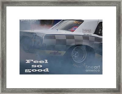 Feel So Good. Framed Print by  Andrzej Goszcz