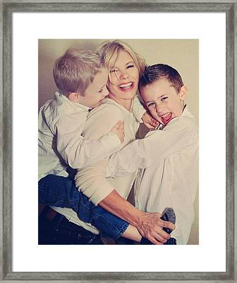 Feel The Joy Framed Print by Laurie Search
