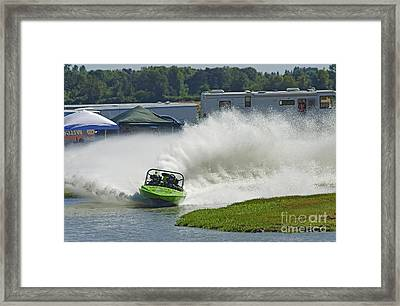 Feel The Power Framed Print by Nick  Boren