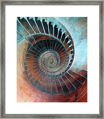 Feel Your Presence And Its Inherent Vibration Framed Print by Elizabeth D'Angelo