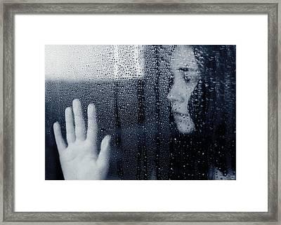 Feeling Blue Framed Print by Lisa Knechtel