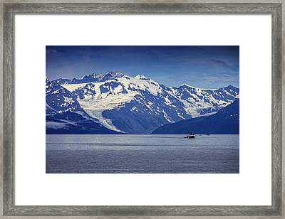 Feeling Small Framed Print by Rick Berk
