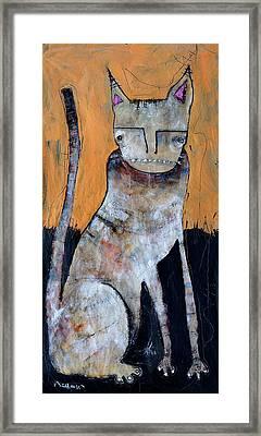 Feles Framed Print by Mark M  Mellon