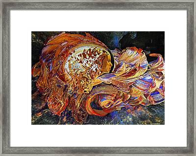 Female Seer Framed Print by Michael Durst