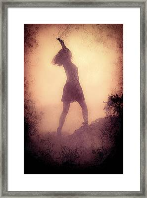 Feminine Freedom Framed Print by Loriental Photography