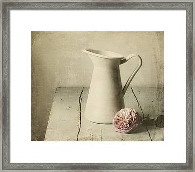 Femininity Framed Print by Amy Weiss