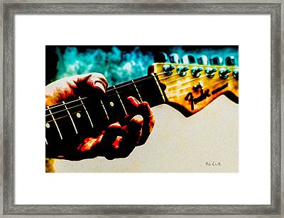 Fender Strat Framed Print by Bob Orsillo