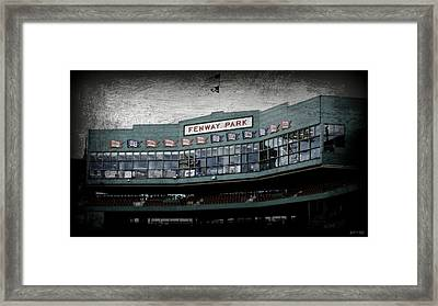 Fenway Memories - 1 Framed Print by Stephen Stookey
