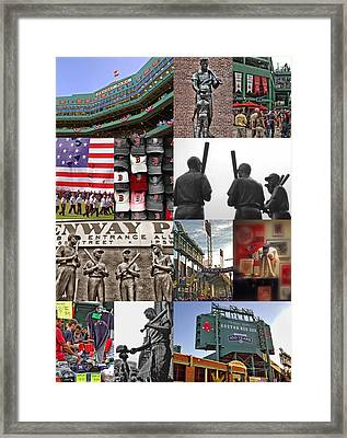 Fenway Memories Framed Print by Joann Vitali