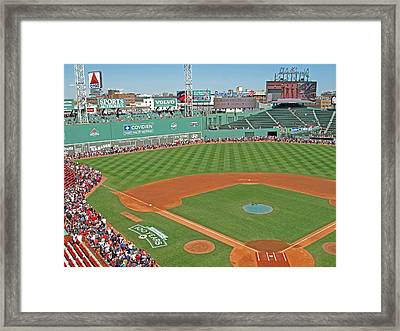 Fenway One Hundred Years Framed Print by Barbara McDevitt