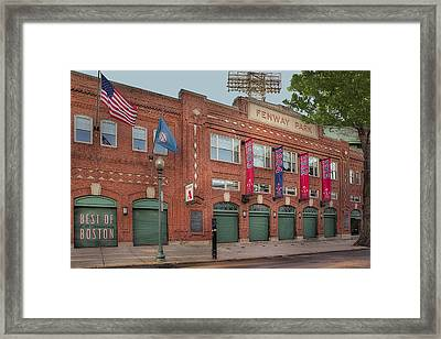 Fenway Park - Best Of Boston Framed Print by Susan Candelario